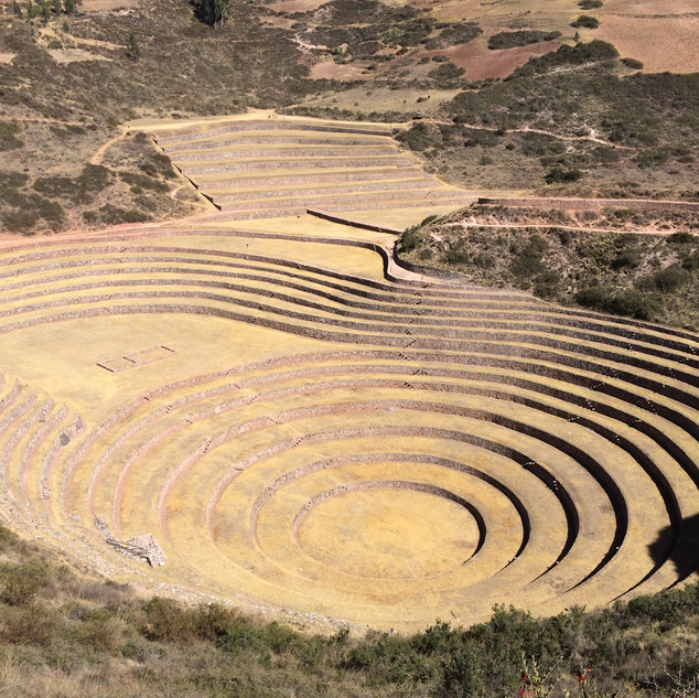 Moray Terraces Sacred Valley