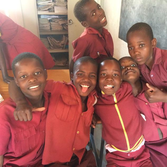 Local Zimbabwean School Children