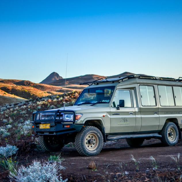 Specially Customized safari Vehicles