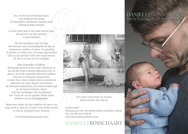 flyer Newbornphotography A4 Outside DEF-