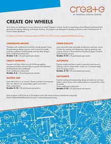 19-AZSC-0295 Create on Wheels-Field Trip