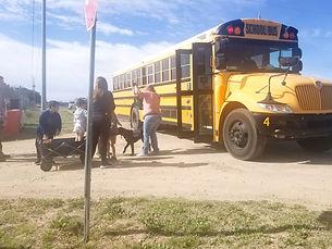 Jacqui School bus 5