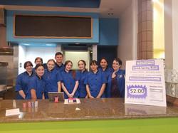 Culinary Student team