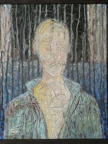 Autoportrait en bleu