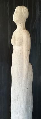 Femme en blanc