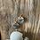 Thumbnail: Golden Stone Drop Earrings