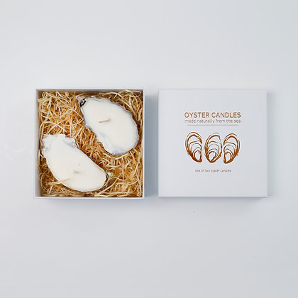 Oyster Candles - Box of 2