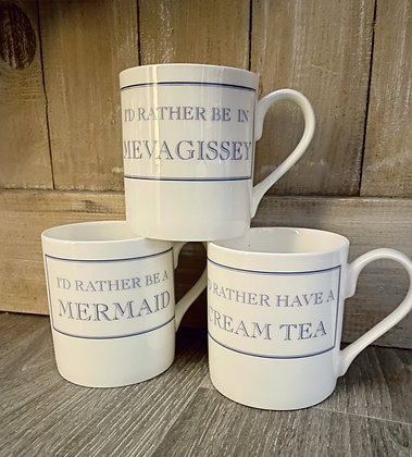 I'd Rather.....Mugs