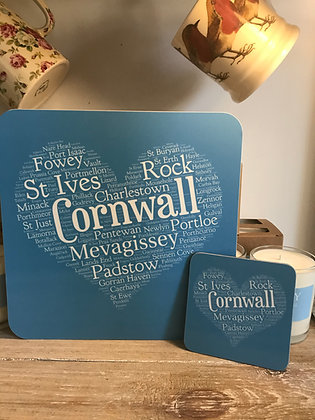 Cornwall Placemat & Coaster