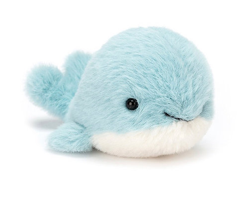 Fluffy Whale by Jellycat