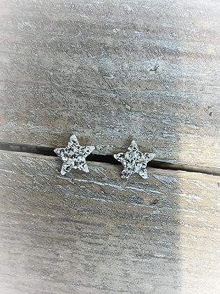Twinkle Twinkle Little Star Silver Earrings
