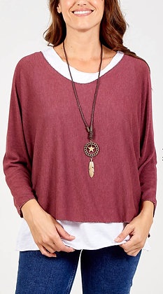Coast Tunic & Necklace Top
