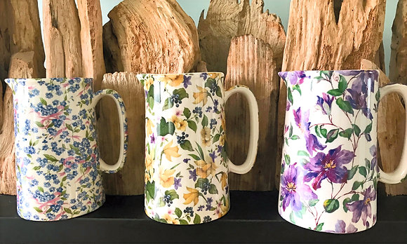 Hedgerow and Garden Pint Jugs