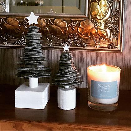 Handmade Slate Festive Tree