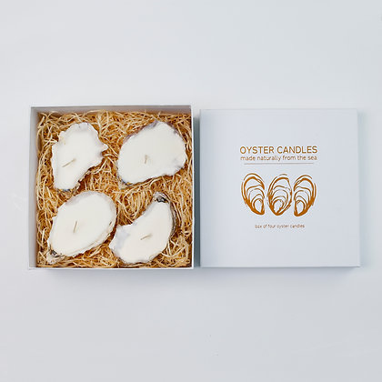 Oyster Candles - Box of 4