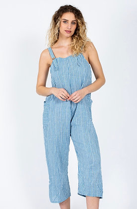 Andy Striped Dungarees