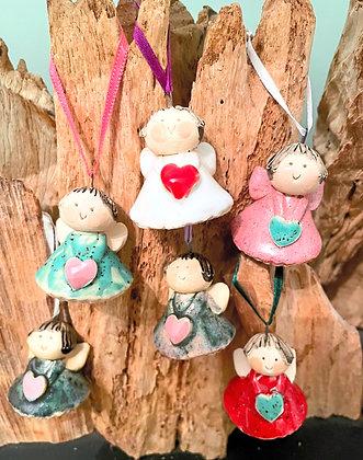Handmade Ceramic Angels