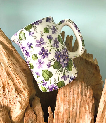 Hedgerow and Flowers 1/4 Pint Jug