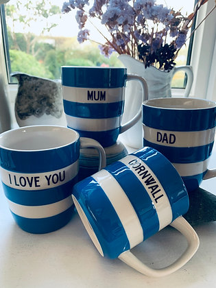 Cornishware Mugs