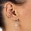 Thumbnail: Twist Single Sterling Silver Ear Cuff