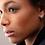 Thumbnail: Stardust Huggie Hoop Sterling Silver Earrings