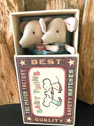 Twin Mice in a Matchbox