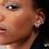 Thumbnail: Stardust Single Sterling Silver Ear Cuff