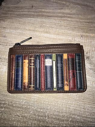 'Bookworm' Leather Cardholder