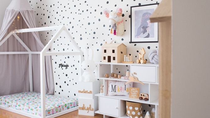 Updating the Nursery/Toddler room with a budget!
