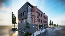 홍성군 복합 문화커뮤니티센터 건립 기본계획 수립 및 타당성 검토용 3D 조감도 제작