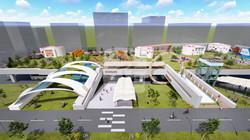 홍성군 기본계획 3D 조감도 제작