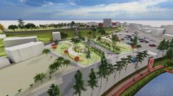 홍성군 기본계획 3D 시뮬레이션_남문동