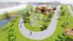 홍성군 도시재생 활성화 계획수립 및 도시재생 뉴딜 공모사업 조감도 제작