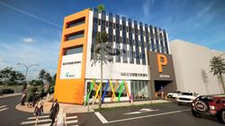 홍성군 내포신도시 주차타워 건립 타당성 검토용 건물디자인 및 3D 조감도 제작