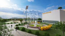 홍성군 청소년 문화의집 타당성 수립 용역용 3D조감도 제작