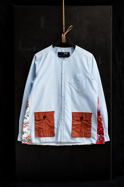 "Archi ""FOLK+"" Pocket Shirt"