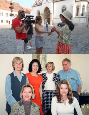 Zagreb in Republika Hrvatska Ecole de Langue Francaise a Monte-Carlo