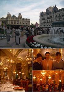 Principaute de Monaco Hotel de Paris Monte- Carlo モナコ日本着物友好親善使節団