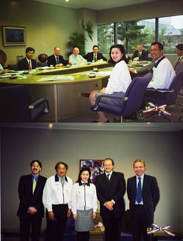 Sekisui House Housing Institute English Delegates by Foreign Ministry 外務省