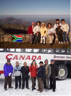Republic of South Africa / CANADA Table Moutain / Athabasca Glacie