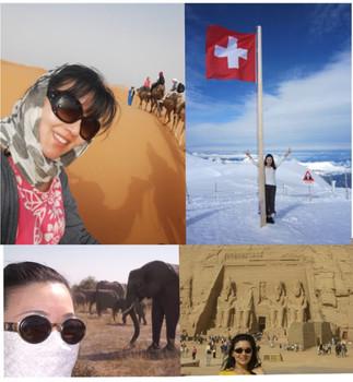 SAHARA / Jungfrau Africa / Abu Simbel Palace in Egypt