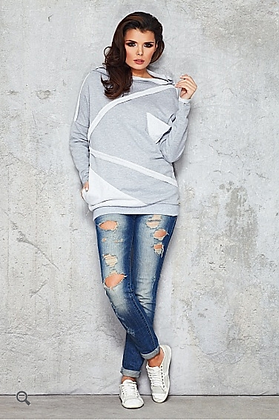 Grijze blouse/sweater