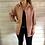 Thumbnail: Roze/backsteen kleur shirt rock & roll