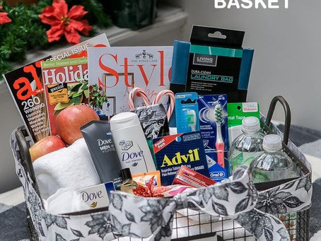 8 Must haves for every wedding welcome basket