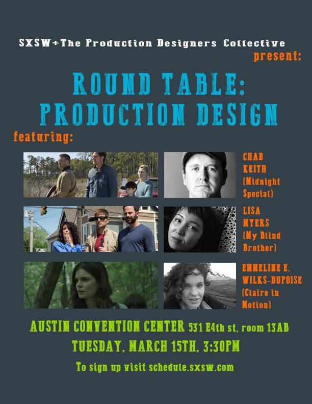 SXSW Round Table: Production Design