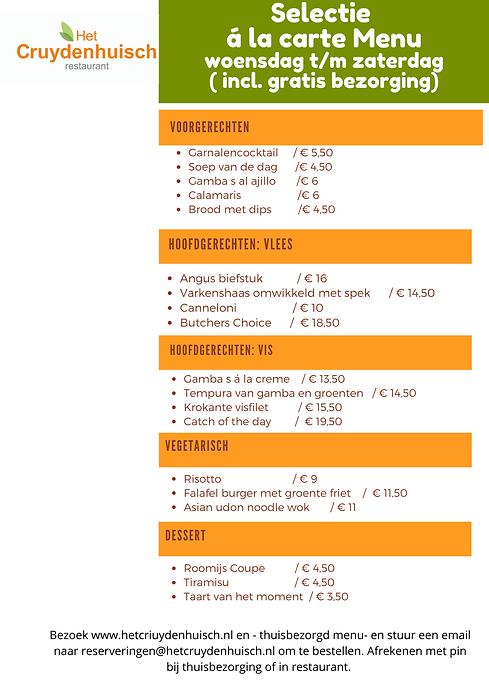 á la carte  Wereldkeuken menu.png