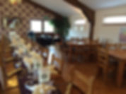 Plenty of space, Bay Tree Cornwall restaurant Goonhavern. Breakfast, Lunch, Homemade Cakes, Drinks. Cornish cream teas. Good food in Cornwall. Baytreecornwall