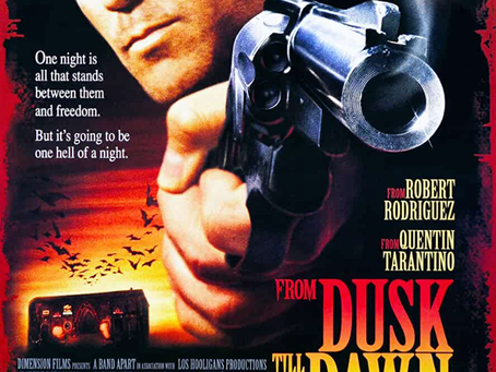 TONIGHT! From DUSK till DAWN on VHS! 7:07pm PST! LIVE! ONLY on WARPED DIMENSION TV!