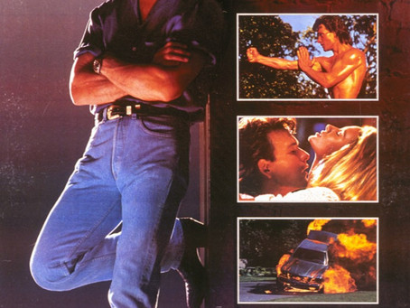 ROAD HOUSE on VHS! LIVE! Wednesday Night 7:07pm PST on WARPED DIMENSION TV!