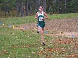 Charlie running at Wayne State University